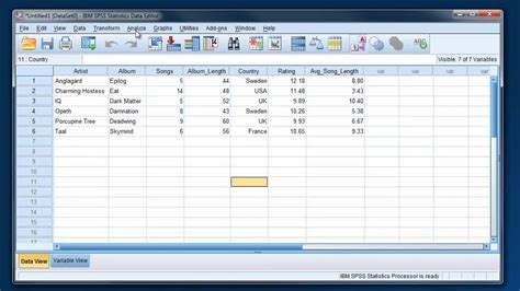 Tutorial Spss 21 | getting started with spss 21 part 2 3 youtube