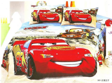 Lightning Mcqueen Bedding Set Lightning Mcqueen Cars Bedding Set Single Size Bedclothes Bed Quilt Duvet Cover Sheet