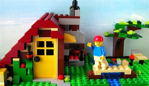 Lego Creator Log Cabin by Lego Creator 5766 Log Cabin I Brick City