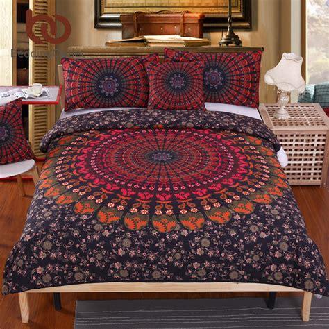 Bed Cover Set New Aliya beddingoutlet mandala bedding set concealed bedspread duvet cover 4pcs boho bedlinen