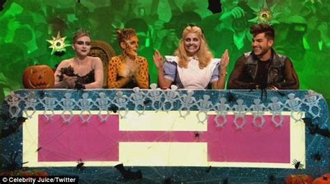 celebrity juice halloween special holly holly willoughby dresses up for celebrity juice halloween