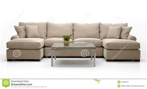 sofa and table set fabric sofa set table stock images image 21384154