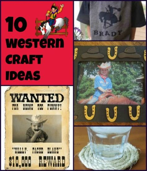Western Craft Ideas Grandparentsplus