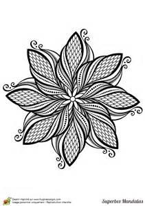 17 Meilleures Id 233 Es 224 Propos De Fleur Mandala Sur