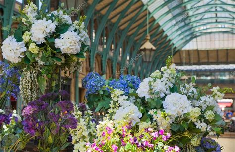 uk 22 july 2014 flower shop in covent garden