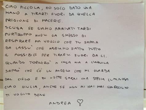 lettere commoventi terremoto la commovente lettera soccorritore quot scusa