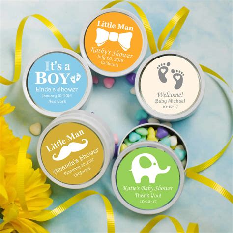 Baby Shower Mint Tins by Baby Shower Mint Tins White Mint Tins Baby Boy Free