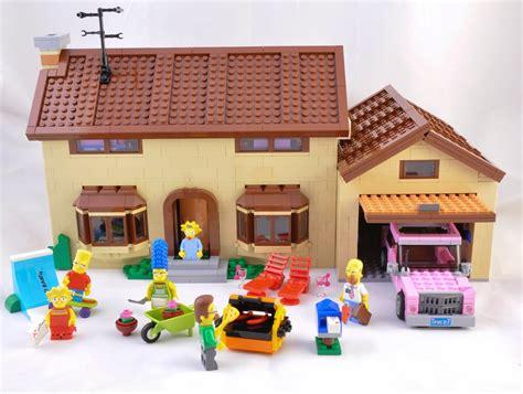 lego casa lego casa de los simpsons lego juguetes para ni 241 os