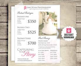 Photography Packages Wedding Photography Price List Session Packages Pricing