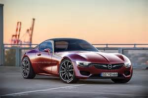 Opel Gt Pics Production Opel Gt Rendered Gm Authority
