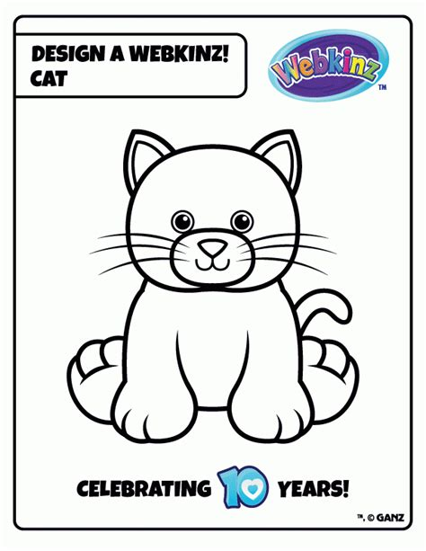 Webkinz Coloring Pages To Print Out Az Coloring Pages Webkinz Coloring Pages