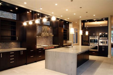 dark cabinet kitchens the charm in dark kitchen cabinets