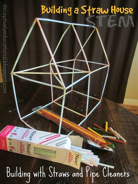 straw tower challenge relentlessly deceptively educational building a