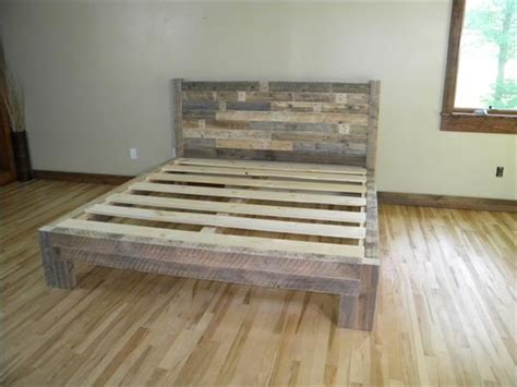 diy pallet bed plans diy pallet bed pallet furniture plans