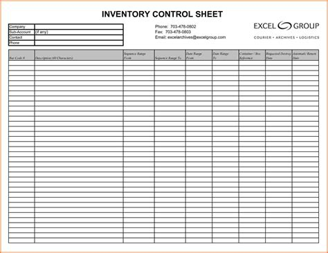 10 inventory spreadsheet examples excel spreadsheets group