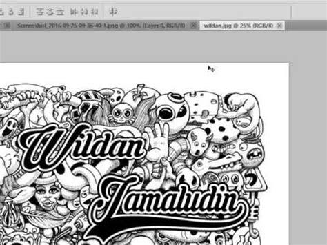 youtube membuat doodle cara membuat doodle art keren dengan photoshop youtube