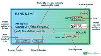 how to write a check gobankingrates
