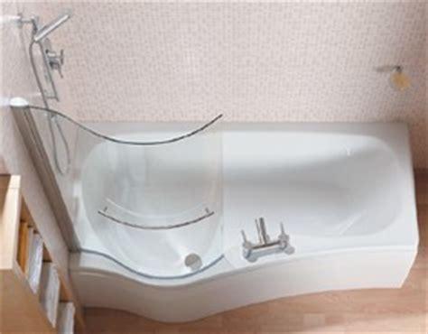 complete shower bath left handed 1700x900mm saninova c sasb1700l truerooms