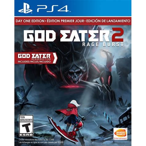 Kaset Ps4 God Eater 2 Rage Burst god eater 2 rage burst