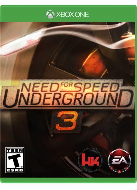 Need For Speed Underground 3 Xboxone By