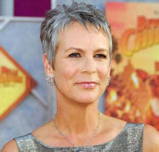 pictures of current jamie lee curtis haircuts how to go natural with gray hair