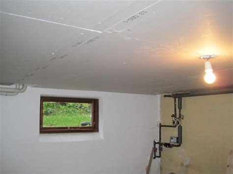 Soundproofing The Studio Ceiling With Drywall Hzandbits Com Drywall Ceiling