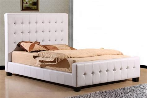White Leather King Size Bed Canada Size Bedroom Furniture In Toronto Mississauga And