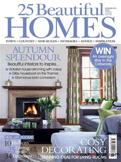 beautiful home design magazines 25 beautiful homes november 2010 187 download pdf