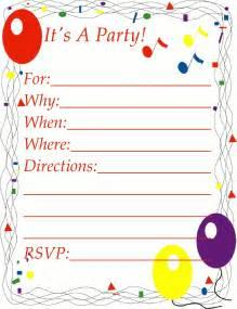 free invitation clipart