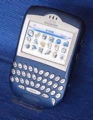 Blackberry 7230 Birue pda dummies