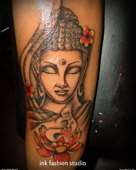 female buddha tattoo designs real looking lotus search s