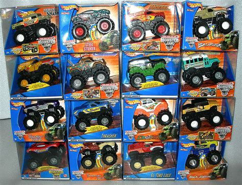 how many monster jam trucks are there wheels monster jam rev tredz friction powered monster