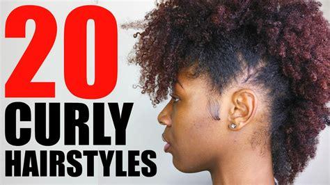 curly natural hairstyles short medium hair youtube