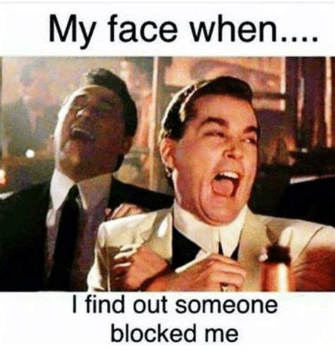 Blocked Meme - 25 best memes about block me block me memes