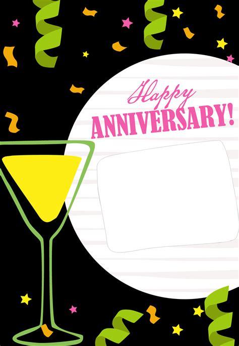 bountiful blessings happy anniversary card   island