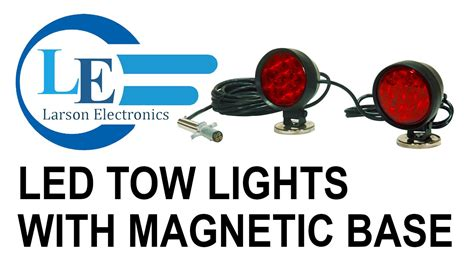 magnetic towing lights wiring diagram harbor freight
