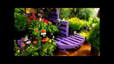 retail plant display   left  pallets youtube