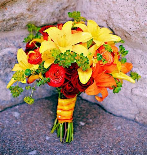wedding flowers orange county california 2 bright fall themed bridal bouquet fall bouquets flower