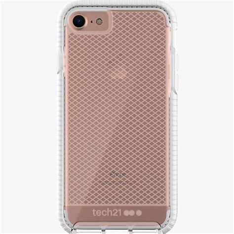 Tech 21 Evo Check Iphone 7 Plus Clear White tech21 evo check for iphone 8 7 verizon wireless