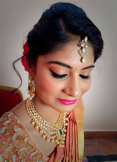 hairstyles for reception images indian bride s bridal reception hairstyle by swank studio