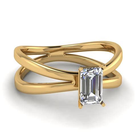 split shank solitaire ring fascinating diamonds