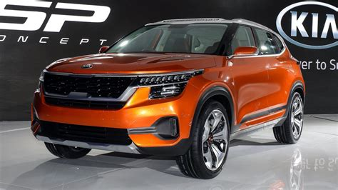 kia sp concept unveiled  india fancy  compact suv design autobuzzmy