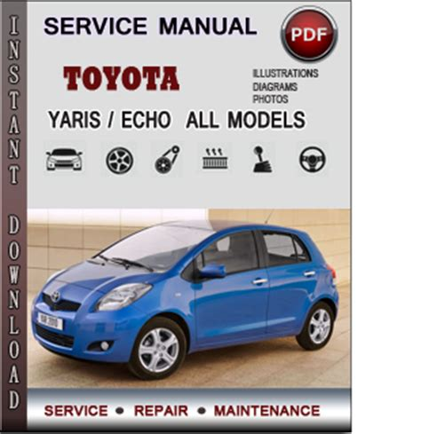 free download parts manuals 2009 toyota yaris transmission control toyota yaris echo service repair manual download info service manuals
