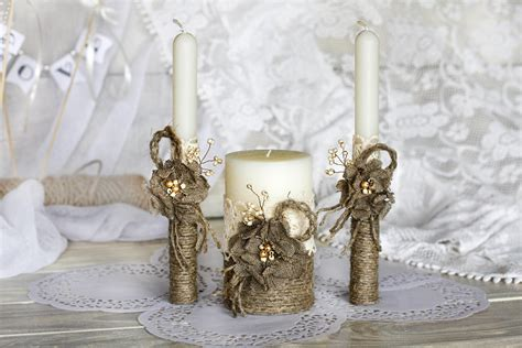 Favors Bridal   5 Best Unity Candles for Wedding Ceremony