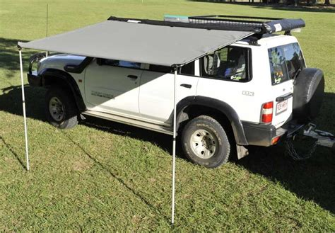 cer roll out awning 4x4 awning 4wd awnings roof rack fitting kit pull roll out aluminium twist lock