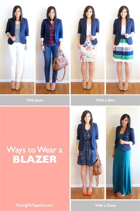 10 Ways To Wear A Blazer A Guide From Your Favorite by Ways To Wear A Blazer Putting Me Together