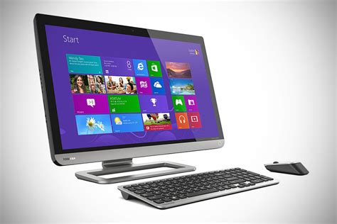 All In One Desk Top Computers by Toshiba Px35t All In One Touchscreen Desktop Pc Mikeshouts