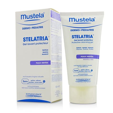 Mustela Stelatria Purifying Recovery Irritated Skin mustela new zealand stelatria protective cleansing gel for irritated skin by mustela fresh