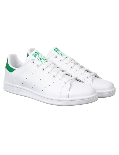 adidas originals stan smith shoes whitegreen footwear