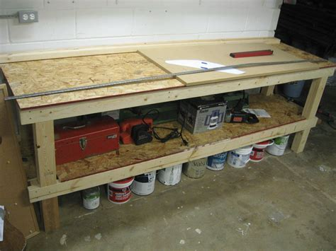 Garage Shop Plans cute homemade workbench best house design best homemade